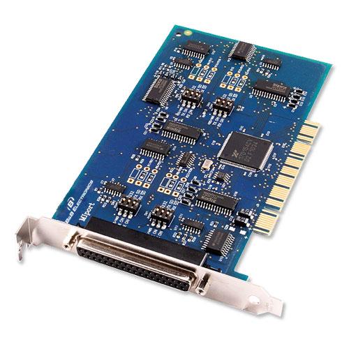 2/4 портовые неизолированые PCI платы для RS-232/422/485