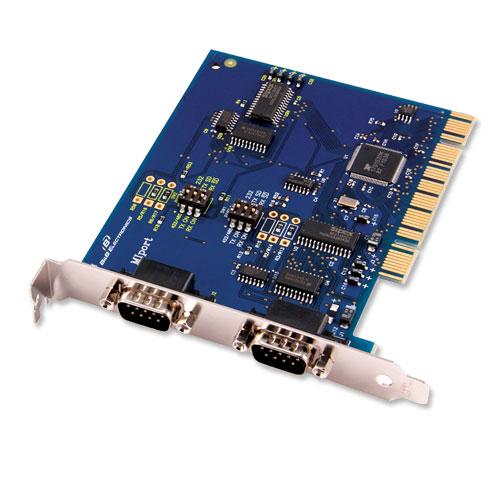 2/4 портовые изолированые PCI платы для RS-232/422/485
