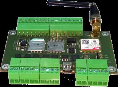 Промышленный IoT модем STELLARIUM CA-IOT-4D4U4O