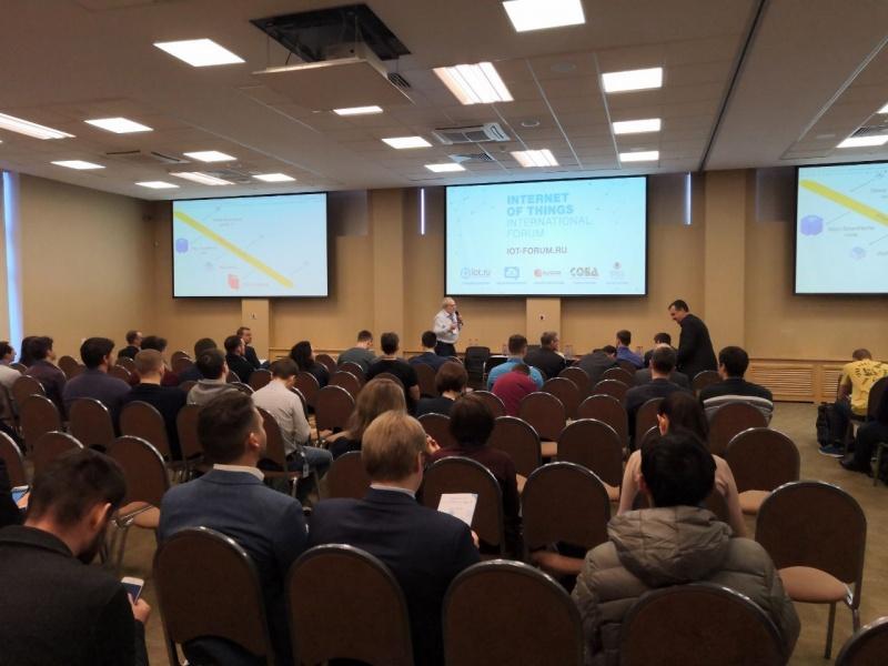 Компания  Conel прияла участие в Международном Форуме Интернета вещей