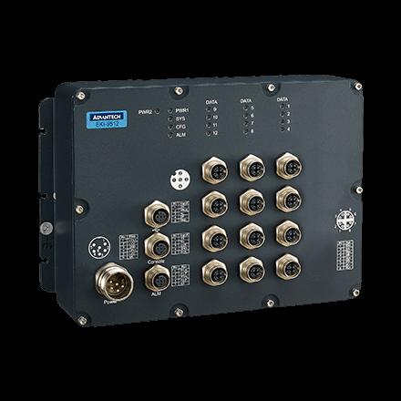 Управляемые коммутаторы EKI-9512